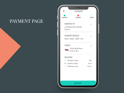 Payment  Page ecommerce shop ecommerce design ecommerce app ecommerce mockup user interface ux ui design uidesign ui  ux uiux ui mobile app design mobile design mobile app mobile ui payment form payment method payment page payments