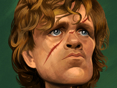 Tyrion Lannister drawing tyrion lannister game of thrones portrait