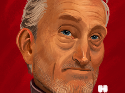 Tywin Lannister tywin lannister game of thrones portrait illustration