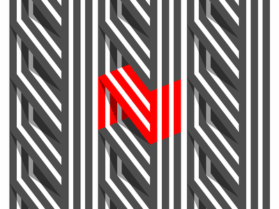 N Logo logo mark symbol n