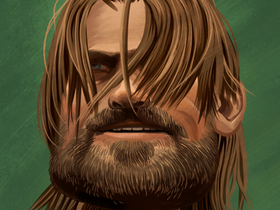 Jamie Lannister jamie lannister game of thrones illustration drawing