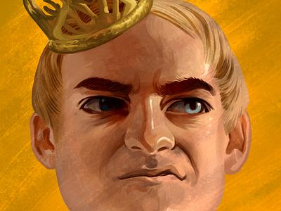 Joffrey Baratheon joffrey baratheon game of thrones illustration drawing