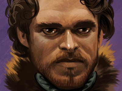 Robb Stark robb stark game of thrones illustration drawing