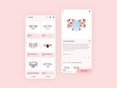 Cataloge to Product Page - Transition Animation mobile app interaction design ux design ux product design mobile figma dribbble ui design ui