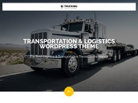 Trucking transportation and logistics wordpress theme