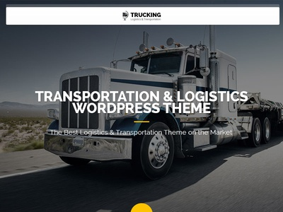 Trucking - Transportation And Logistics Wordpress Theme