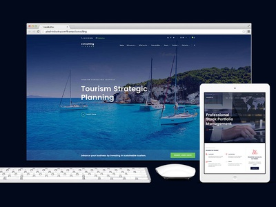 Consultingpress Multi Niche Consulting Website Template
