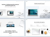 Restless - Agency Portfolio Layout