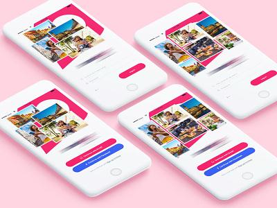 Travel Mobile App ux design mobile app