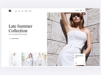Ella Fashion shop ux shop design ux ecommerce
