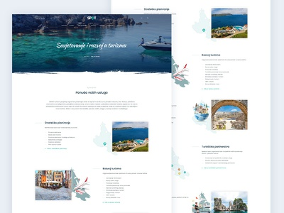 SPOT Services Page web development ux design ui ux web design
