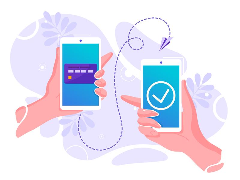 Mobile money transfer internet landing money online page pay payment phone safe screen send shopping smart smartphone technology transaction transfer wallet web wireless