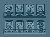 The Simpsons: Heads in Jars