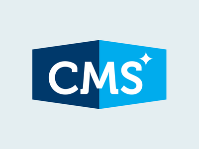 CMS Logo commercial logo sparkle cleaning