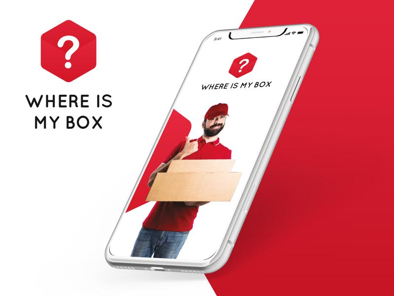 Where is my BOX? we branding logo ux ui design webdesig design ui ux ilustrator photoshop