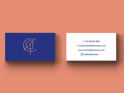 Business Cards for Clorinda Di Tommaso