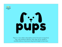 Pups - thirty logos design.
