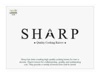 Thirty logos challenge #16 - Sharp