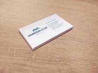 Day 19 - Hampton Cove Business Card