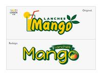 #Thirtylogos challenge Day 30 - Mango