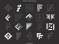 Double F Lettermark Exploration