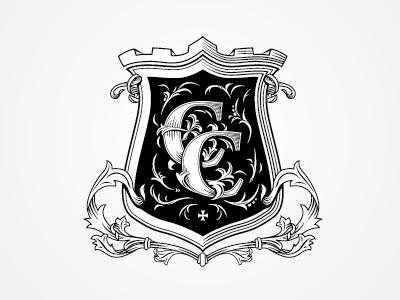 C&C heraldic shield