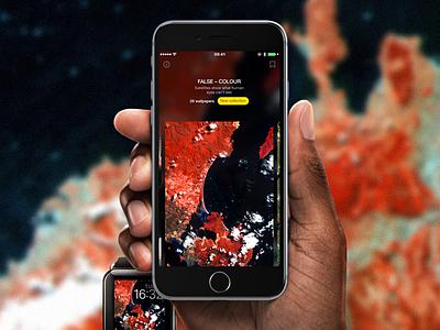 WLPPR for iOS nasa iphone app satellite wallpapers ios wlppr