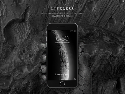 New wallpaper collection — LIFELESS
