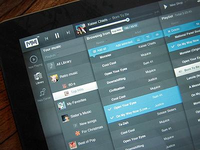 iPad player app player ios ipad music