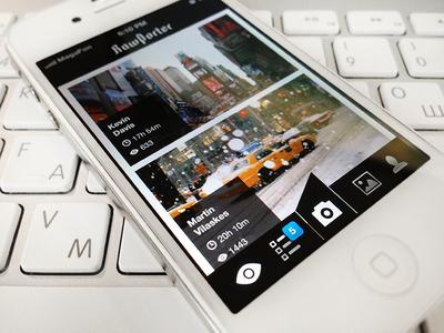 Citizen journalism app