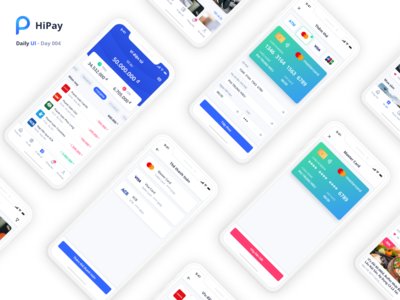 Payment Wallet - HiPay Mobile App 004