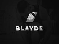 BLAYDE Active Wear Logo Concept