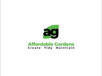 Affordable Gardens Concept Logo