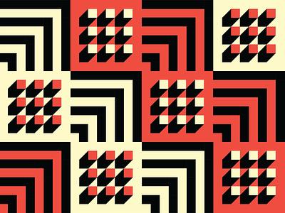 Isometric Pattern branding isometric pattern bauhaus