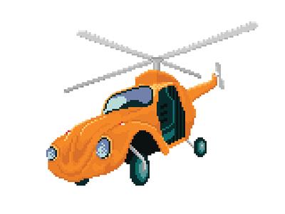 McJ Pixelcopter