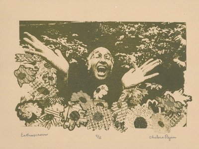 Litho Larry printmaking curbyourenthusiasm curb lithography lithograph