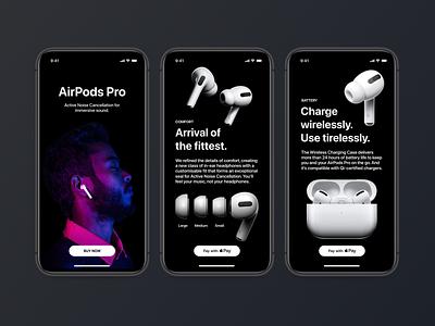 Airpods Mobile App Design apple airpods mobile app design design ui