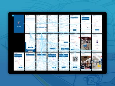 Delhi Metro App Concept Prototyping