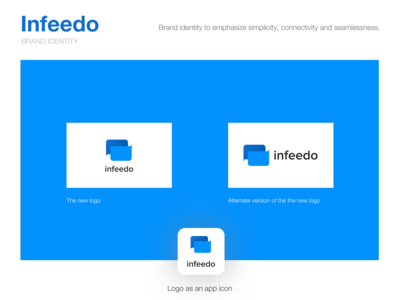 Infeedo Logo design