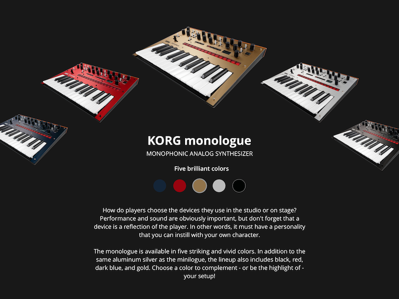 #033 Customize Product ecommerce retail korg synths music product customize uxdesign uidesign 033 challenge dailyui