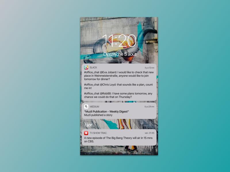 049 Notifications notifications minimalistic design vector sketch ui redesign dailyuichallenge uxdesign uidesign dailyui challenge
