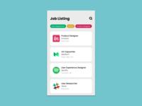 #050 Job Listing