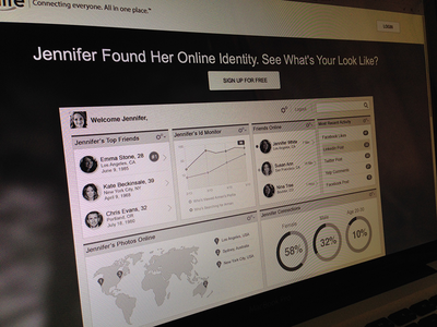 Home page exploration