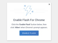Flash Prompt Modal