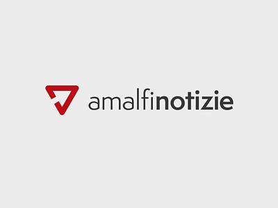 Amalfi Notizie - Logo concept vector logo branding logo design