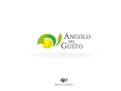 Angolo del Gusto - Lemon Logo illustration vector concept branding logo logo design