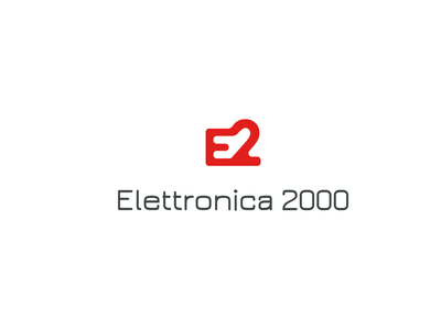 Elettronica 2000  - Logo illustration concept vector branding logo logo design