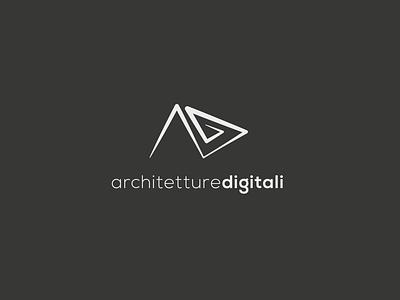 Architetture Digitali - Logo concept logo vector branding logo design