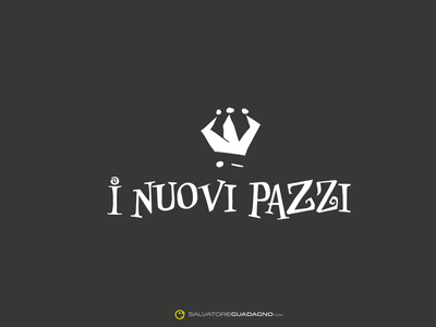 i Nuovi Pazzi - Logo - Carnevale concept logo vector branding logo design