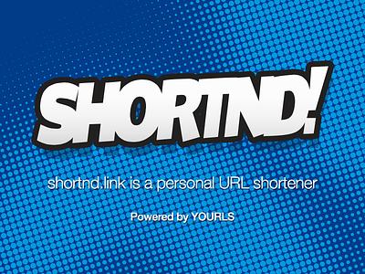 Shortnd.link branding logo shortener url yourls